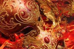 maskera venetian Royaltyfri Bild
