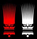 maskera vilden Royaltyfri Fotografi