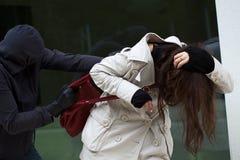 Maskerad attack Royaltyfri Bild