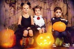Maskerad halloween Royaltyfri Foto