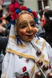 Maskerad karneval Figues Arkivbild