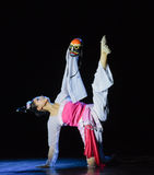 Maskerade-Chinese klassieke dans stock afbeeldingen