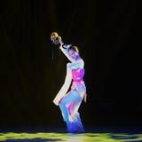 Maskerade-Chinese klassieke dans stock foto's