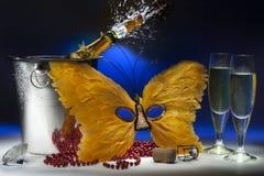 Maskerade-Partei-Feiern Stockbilder