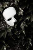 Maskerade - Phantom der Operen-Schablone Stockfotografie