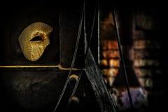 Maskerade - Phantom der Operen-Schablone Lizenzfreies Stockfoto