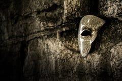 Maskerade - Spoor van het Masker van de Opera Stock Foto
