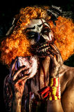Maskerade van dood royalty-vrije stock foto