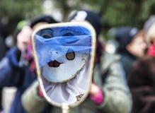 Maskerade-Zusammenfassung Stockbilder