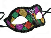 Maskeradekugel-Partyschablone Stockfoto