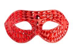 Maskeradeschablone getrennt stockfoto