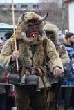 Maskeradfestival i den Shiroka lakaen, Bulgarien arkivfoton