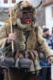 Maskeradfestival i den Shiroka lakaen, Bulgarien royaltyfri foto
