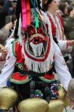 Maskeradfestival i den Shiroka lakaen, Bulgarien fotografering för bildbyråer