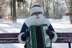 Maskeradkläder ferie, vinter, jul, musik Royaltyfria Bilder