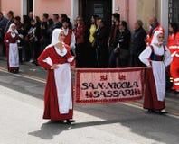 Maskerar av Sardinia Royaltyfri Fotografi