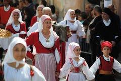 Maskerar av Sardinia royaltyfria bilder