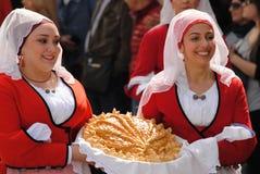 Maskerar av Sardinia royaltyfri foto