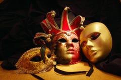 maskerar venetian Royaltyfria Foton