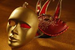maskerar venetian Royaltyfri Bild