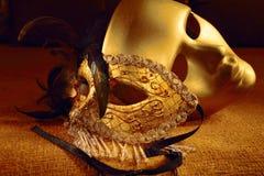 maskerar venetian Arkivbilder