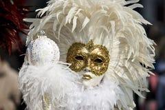 maskerar venice Royaltyfri Fotografi