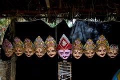 Maskercultuur van Assam Stock Fotografie