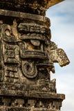 Maskering av Chac, den forntida Mayan guden av regn och blixt Royaltyfri Fotografi