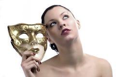 maskering för 2 skönhet royaltyfri foto