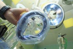 Maskering för anestesi Royaltyfria Bilder