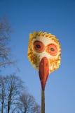 maskering för fågelgrasmardi Royaltyfria Bilder