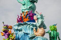 Maskering för karneval 2014 Royaltyfri Foto
