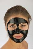 Maskering för svart framsida Royaltyfri Foto