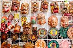 Maskering från Belize Arkivbild