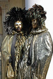 Maskering - karneval - Venedig någon pics från den feta tisdagen i venice Arkivfoto