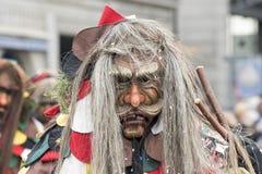 Maskering på karnevalet i schweizare Royaltyfri Foto