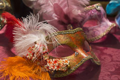 maskering traditionella venice Royaltyfri Foto