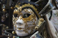 maskering traditionella venice Royaltyfri Bild