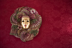maskering venice Royaltyfri Foto