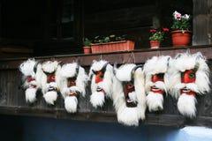 Maskeringar på bymuseet Royaltyfri Foto