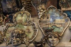 Maskeringarna av Venedig Arkivfoton
