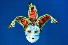 Maskeringsgyckelmakarekarneval, ferie, gyckel fotografering för bildbyråer