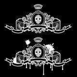 maskeringshögtalare royaltyfri illustrationer