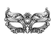 Maskeringskontur Royaltyfri Bild