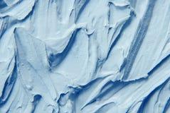 Maskeringslera är blå textur Royaltyfri Bild