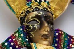 Maskeringsmaskerad Arkivfoto
