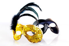 Maskers stock afbeelding