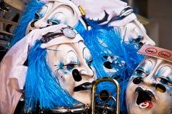 Maskers Royalty-vrije Stock Afbeeldingen