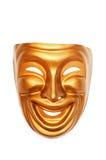 Maskers met het theaterconcept Stock Fotografie