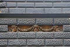Maskers met het theaterconcept - Theater San Carlo Stock Afbeelding